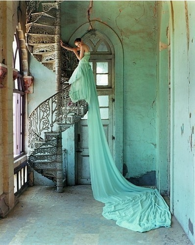 Seafoam Green Gown