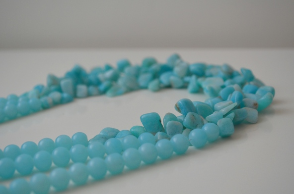 Turks and Caicos Necklace / Meg Hannan Designs / www.meghannandesigns.com