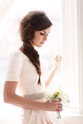 Blush wedding dress 2 - meohmymama.blogspot.com