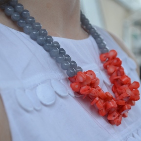Flamingo Necklace / Meg Hannan Designs / www.meghannandesigns.com