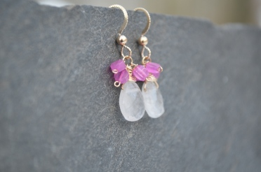 Dahlia earrings / Meg Hannan Designs / www.meghannandesigns.com