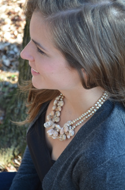 Stonewall Necklace / Meg Hannan Designs / www.meghannandesigns.com