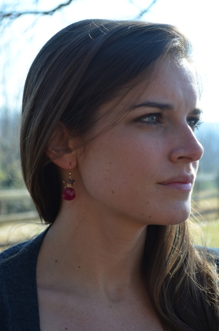 Elaine Earrings / Meg Hannan Designs / www.meghannandesigns.com