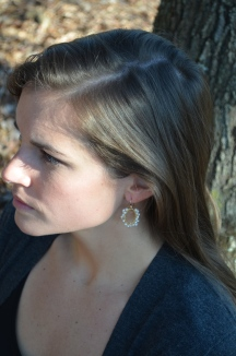 Queen Annes Lace Earrings / Meg Hannan Designs / www.meghannandesigns.com