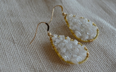 Icicle Earrings / Meg Hannan Designs / www.meghannandesigns.com