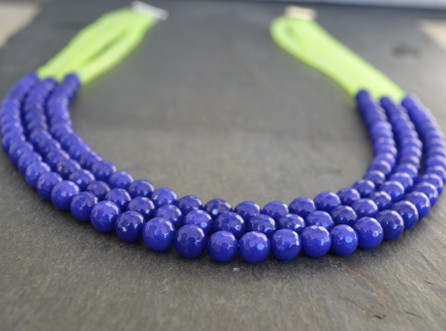 Bright Lights Necklace / Meg Hannan Designs / http://www.meghannandesigns.com
