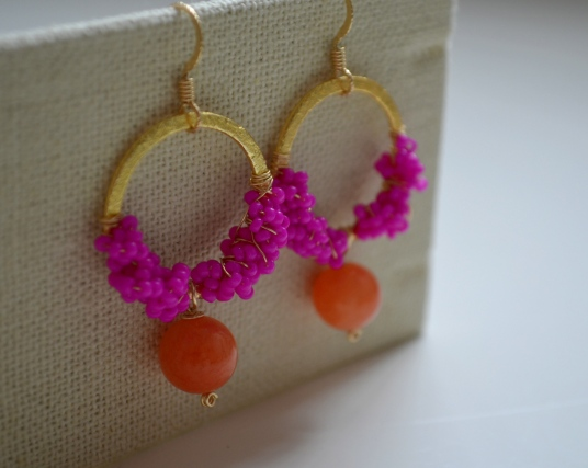 Clementine Earrings / Meg Hannan Designs / www.meghannandesigns.com