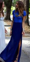 Blue on Blue Maxi / http://luvrumcake.tumblr.com/post/78152560806
