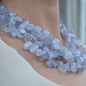 Sea Lavender Necklace / Meg Hannan Designs / www.meghannandesigns.com