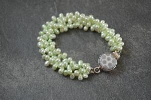 Seafoam Bracelet / Meg Hannan Designs / www.meghannandesigns.com