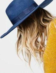 Navy Hat. Laurenconrad.com