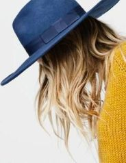 Navy Hat. Laurenconrad.com