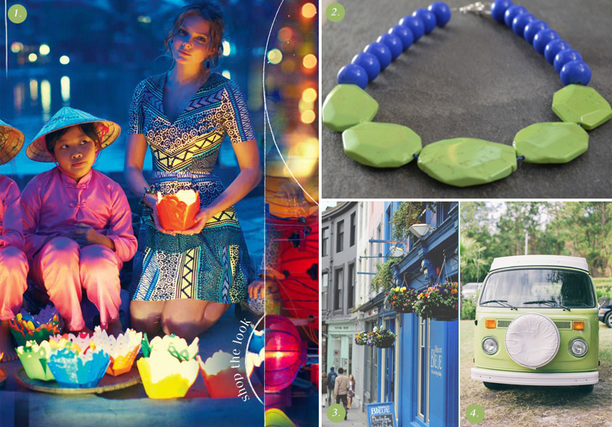 Hanoi Necklace, Behind the Jewels / Coveting Color